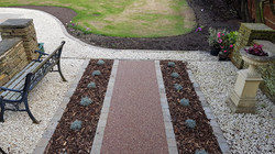 R10 - Chilli Chocolate Mix (2)  Resin Bound Driveway Surfacing at Brookside  in Chesterfield with Bl
