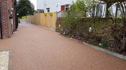 R13 - Chilli Chocolate Mix (2)  Resin Bound Driveway Surfacing at Brookside  in Chesterfield with Bl