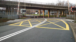F66 Tarmac Road Surfacing to Network Rail Level Crossing