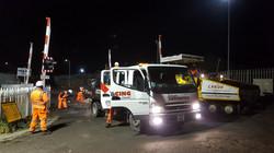 F59 Tarmac Road Surfacing to Network Rail Level Crossing