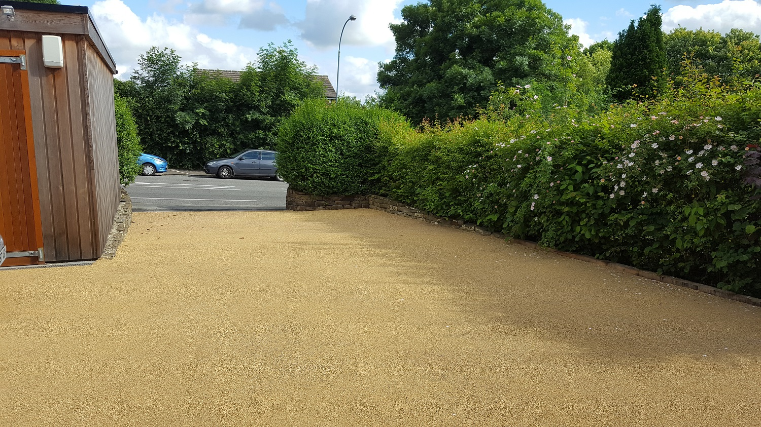 B5a - Resin Bonded Driveway Surfacing at Walton in Chesterfield