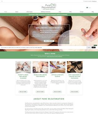 Pure Rejuvenation Home Page