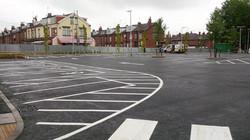 F26  Tarmac Surfacing to Aldi Car Park in Leeds