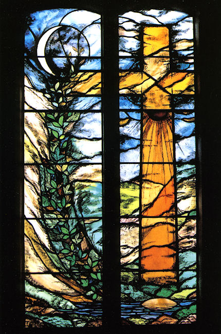 millennium-window_st-mary-magdalene_hert