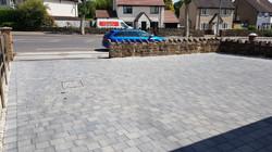 C30 Plaspave Modena Granite Stone Block Paving Driveway at Newbold in Chesterfield