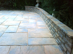 H16 Marshalls Heritage Paving Patio at Linacre Woods, Chesterfield
