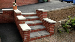 D26  Step Construction at Wingerworth in Chesterfield