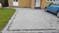 C15 Plaspave Premia Granite Stone Block Paving Driveway at Dronfield