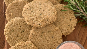 Rosemary & Black Pepper Oatcakes