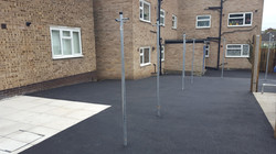 P7 Tarmac Surfacing to Drying Area at Loundsley Green in Chesterfield