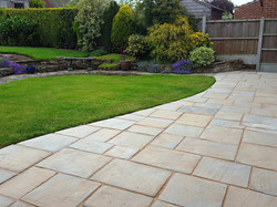 H1 Marshalls Heritage Paving Patio at Ashgate, Chesterfield