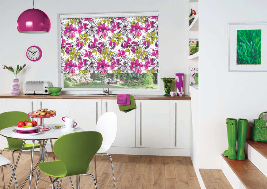 Roller Blinds from Bespoke Blinds and Poles in Sheffield