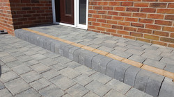 C11 Plaspave Modena Granite Stone Block Paving Driveway at Inkersall in Chesterfield