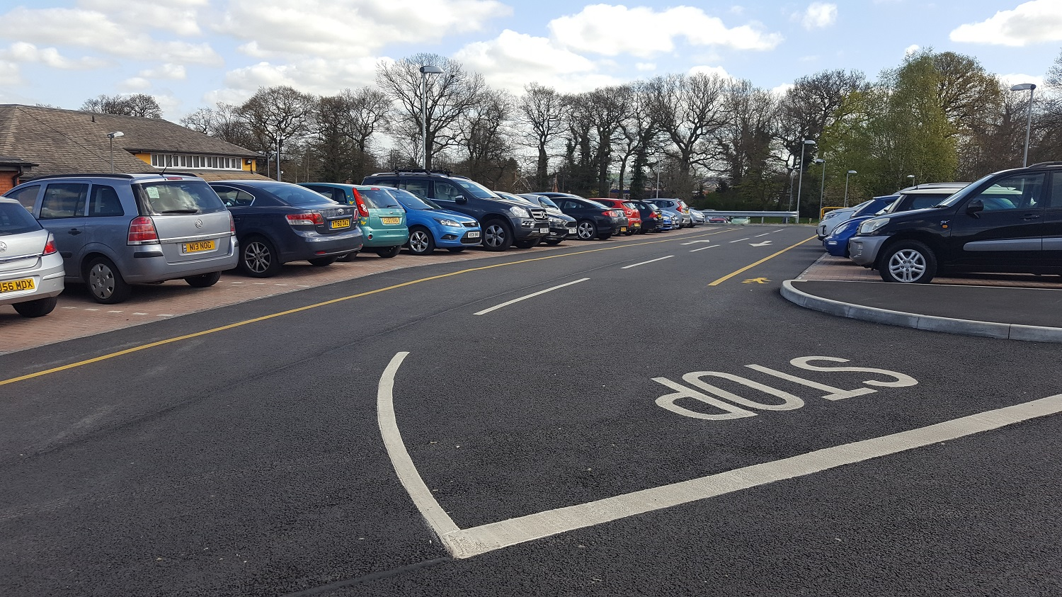 F16 Construction and Tarmac Surfacing to Car Park Extension at Ilkeston Hospital in Ilkeston