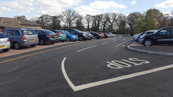 F16 Construction and Tarmac Surfacing to Car Park Extension at Ilkeston Hospital in Ilkeston