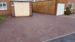 D29  Red Tarmac Driveway Surfacing at Loundsley Green in Chesterfield