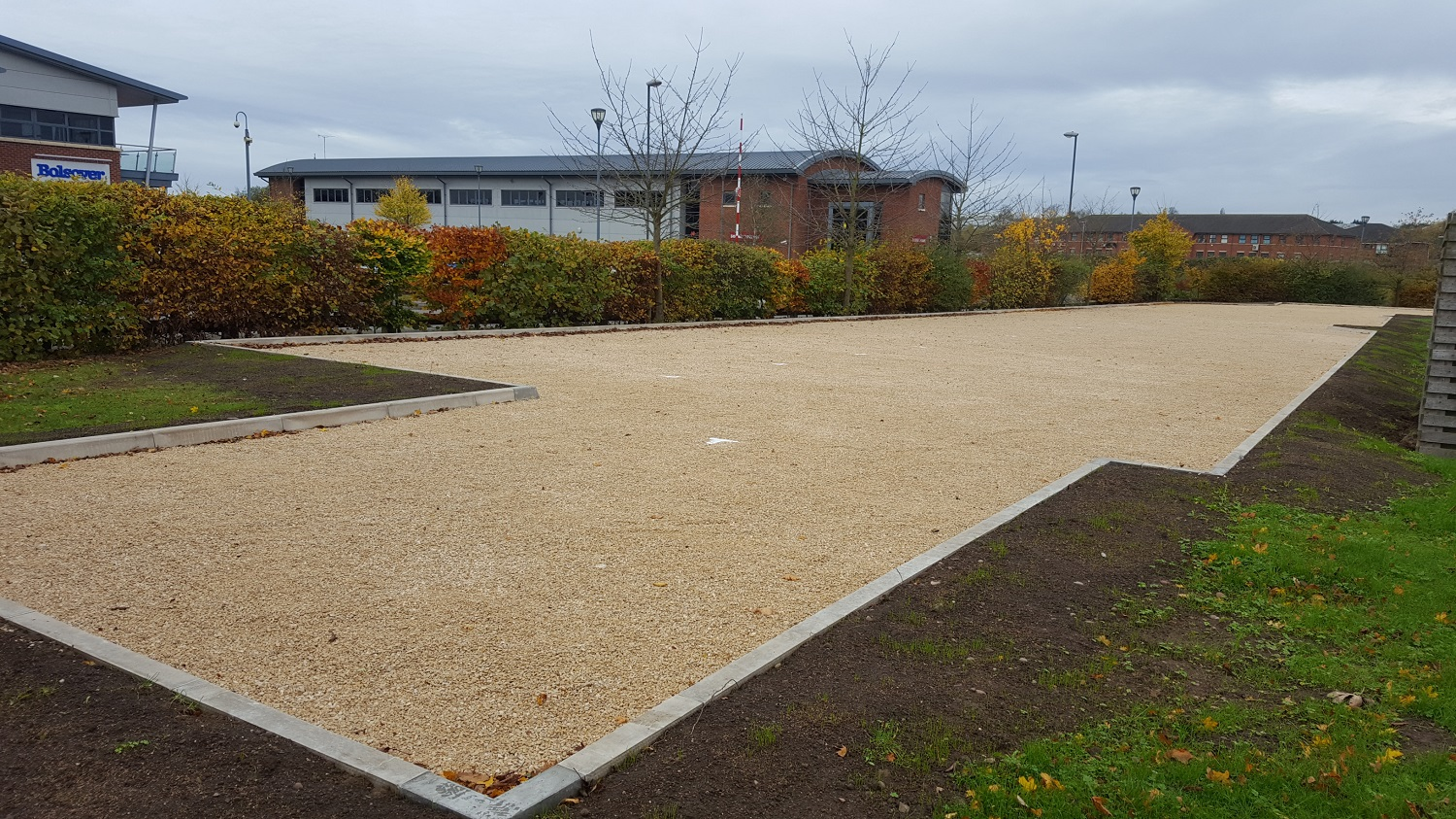 F24 Construction and Gravel Grids to Car Park Extension at NHS Treatment Centre in Barlborough