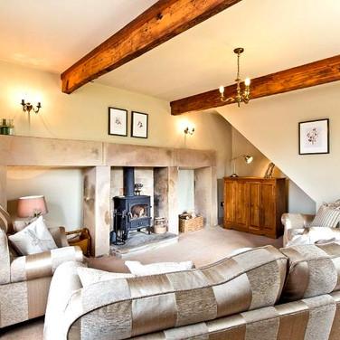 Burrs Farm - Living Room