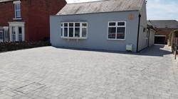 C29 Plaspave Modena Granite Stone Block Paving Driveway at Newbold in Chesterfield