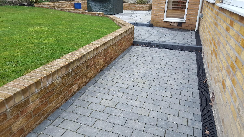 C17 Plaspave Premia Granite Stone Block Paving Driveway at Dronfield