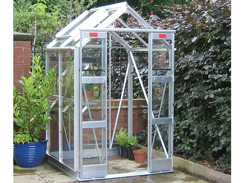 "4'3"" Wide Compact Greenhouse"