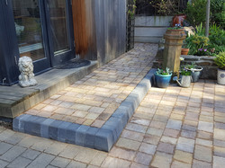 C4 MarshallsTegula Harvest Block Paving Driveway at Brookside in Chesterfield