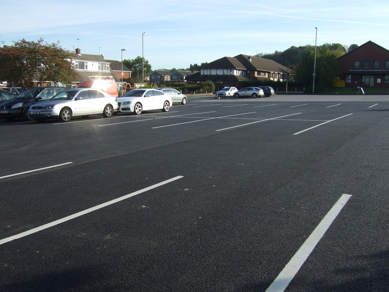 F38  Tarmac Surfacing to Car Park in Leeds