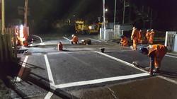 F60 Tarmac Road Surfacing to Network Rail Level Crossing