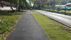 P9 Tarmac Footpath Surfacing at Portland College in Mansfield