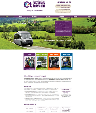 BECT Charity Website Design