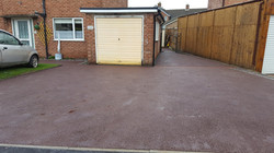 D28  Red Tarmac Driveway Surfacing at Loundsley Green in Chesterfield