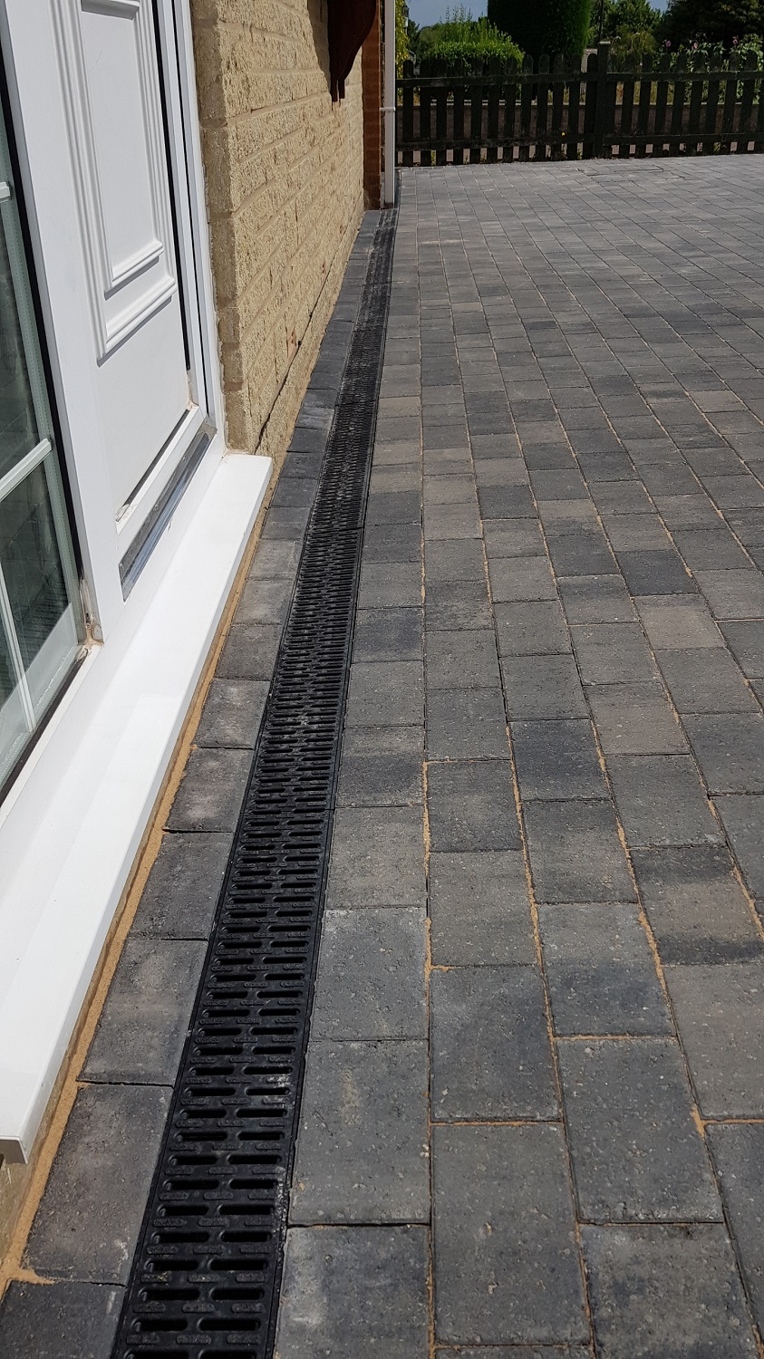 C36 Plaspave Premia Granite Stone Block Paving Driveway at Linacre Woods in Chesterfield