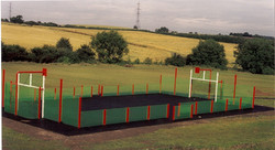 P27 Construction & Surfacing of MUGA Sports Court & Sports Court Markings in Alfreton
