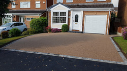 R22 - Chilli Chocolate Mix (1)  Resin Bound Driveway Surfacing at Linacre Woods in Chesterfield with