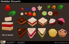 Modular Cakes