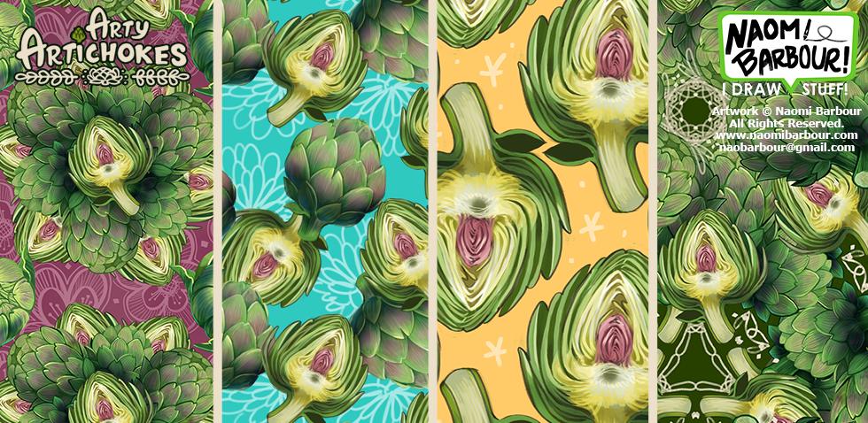 artichoke patterns