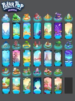 Polar Pop Backgrounds