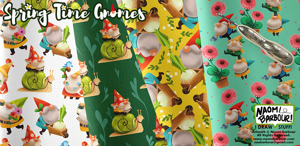 Spring Time Gnomes Patterns