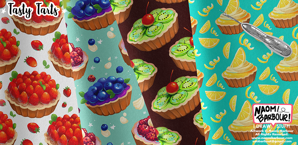 Tasty Tarts Patterns