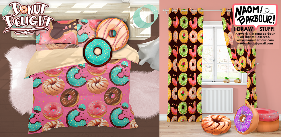 Donut Bedding Mock