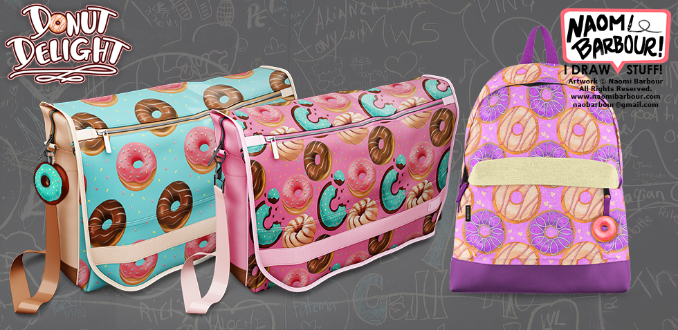 Donut Backpack Mocks