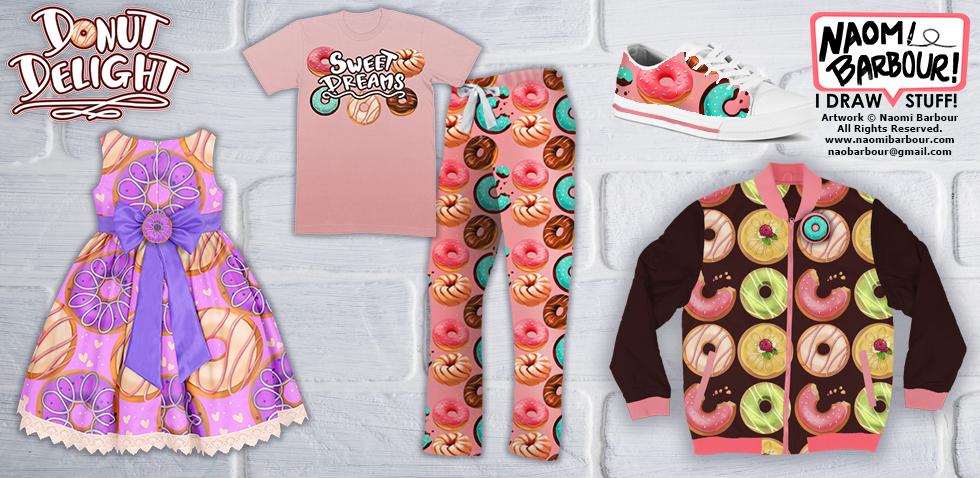 Donut Clothing Mock