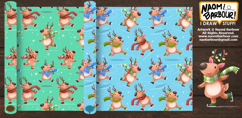 Reindeer Patterns