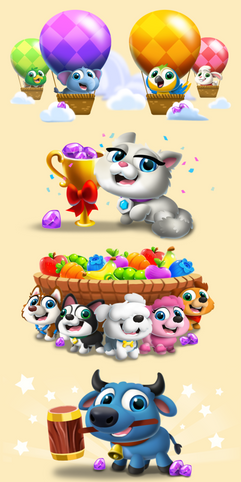 Hungry Babies Global Events Icons