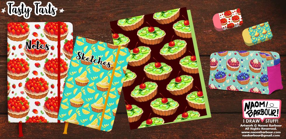 Tasty Tarts Product Mocks