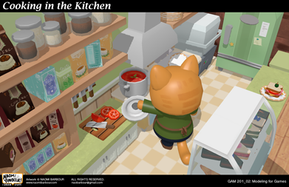 Cooking in the Kitchen