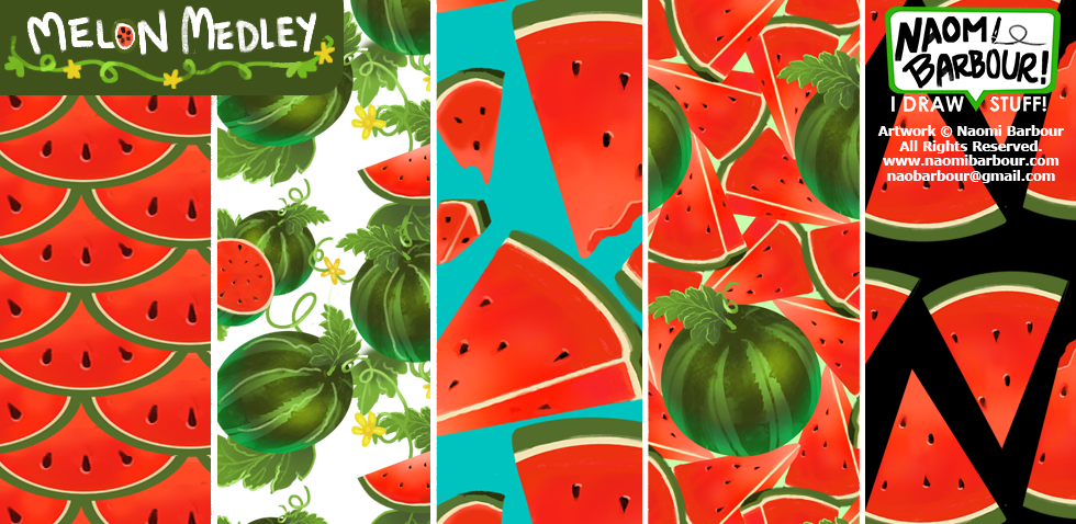Melon Medley Patterns