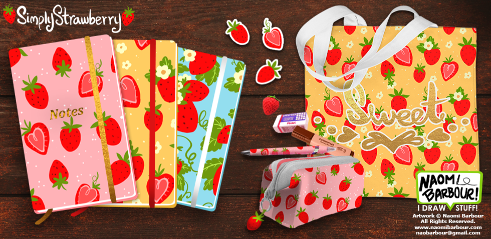 Simply Strawberry Mocks