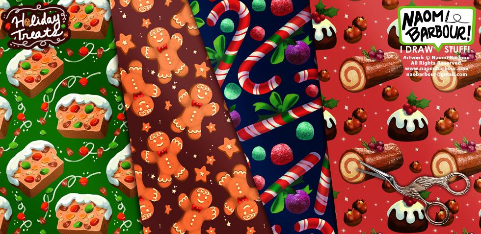 Holiday Treats Patterns