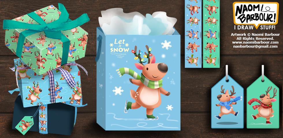 Reindeer Product Mocks